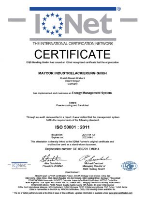 ISO 50001 IQNet