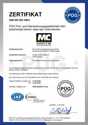 9001-Zertifikat-2020